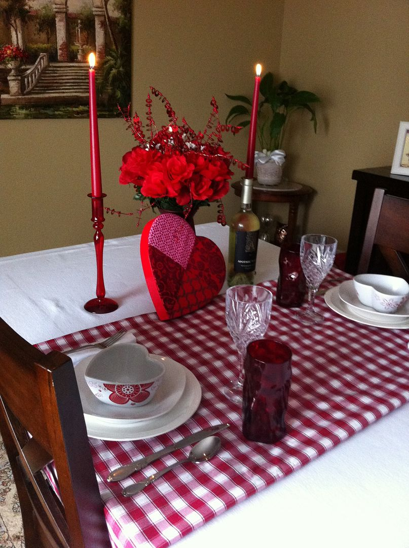 Valentine Tablescape~Kathe With An E
